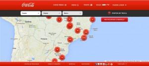 Mapa Coca-Cola