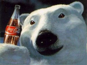 urso popal coca-cola