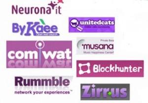 Logos roxos