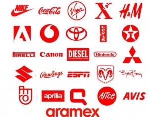 Logos vermelhos