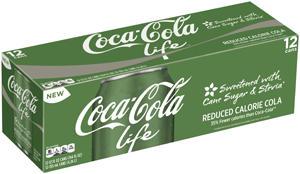 Coca-Cola-Life embalagem