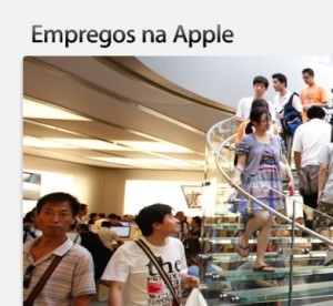 empregos na Apple