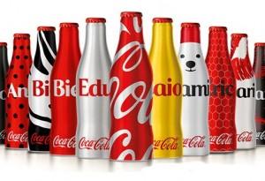 Promoção Mini garrafinhas Coca-Cola
