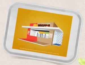 A loja McWhopper