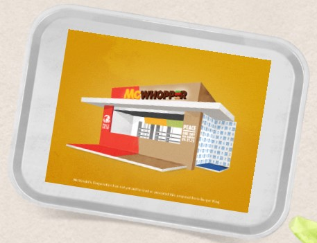 McWhopper: No novo Hambúrguer do McDonalds e Burger King