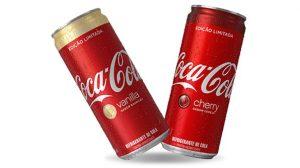 Coca cola Vanilla e cherry